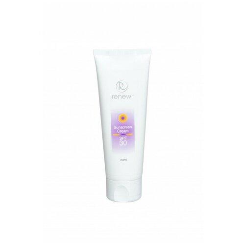 RENEW / Sunscreen Cream SPF-30 / Увлажняющий солнцезащитный крем SPF-30, 80 мл