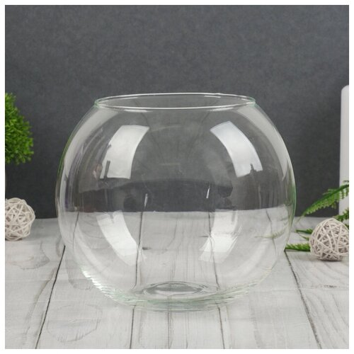 Фото - Evis Ваза Шаровая d-10см 13х15 см, 2л ваза шаровая d 14см 22х19см 5л 1001570