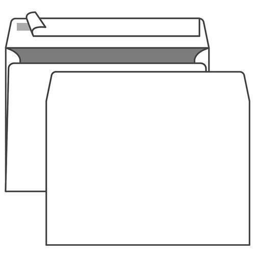 Конверт почтовый C4 KurtStrip (229х324, 90г, стрип) белый, 250шт. (70501)