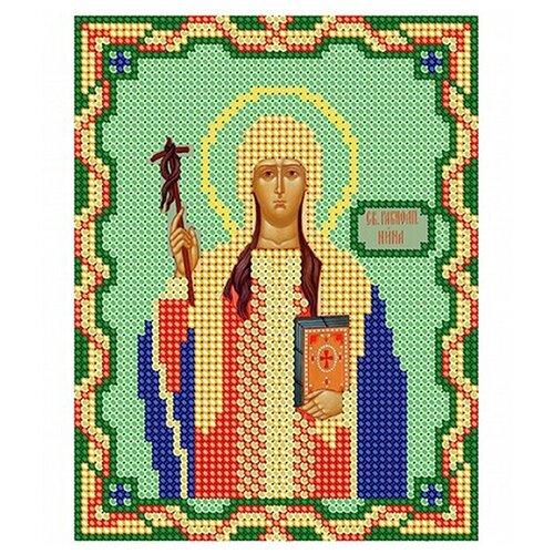 Рисунок на ткани бисер нитекс арт.9036 Святая Равноапостольная Нина Просветительница Грузии 15х21 см