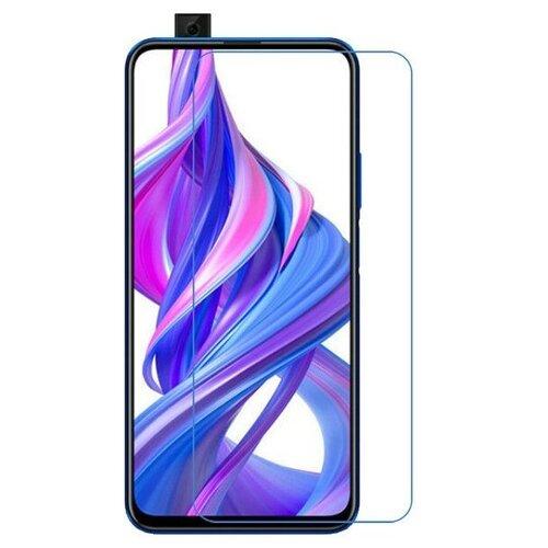 Защитная пленка MyPads (только на плоскую поверхность экрана, НЕ закругленная) для телефона Honor 9X (STK-LX1)/ Huawei Honor 9X Premium / Honor 9X (Russia) глянцевая
