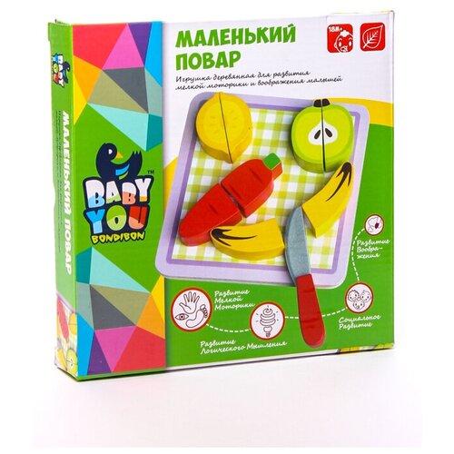 Маленький Повар, Bondibon (игровой набор, деревянный)