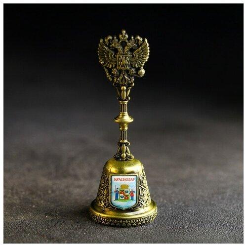Колокольчик в форме герба «Краснодар» (Царские ворота), 11,8 х 4,2 см 4174840