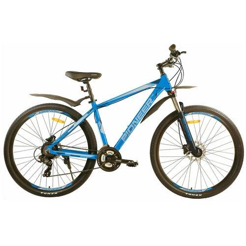 Велосипед PIONEER Nevada 29 AL/16'' 2020-2021 blue-black-silver