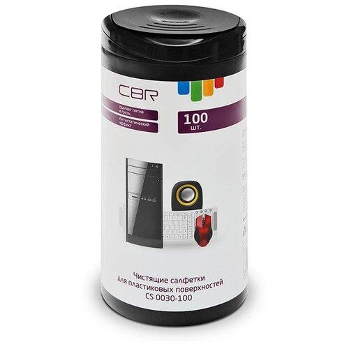 Фото - Чистящие салфетки для пластиковых поверхностей CBR CS 0030-100 100шт 1467095 cbr набор для ухода за техникой cbr cs 0061 200 мл