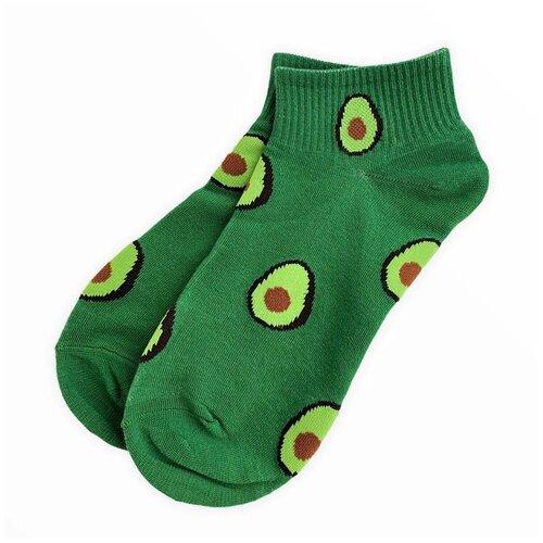Носки женские Turkan зеленые авокадо размер 36-41