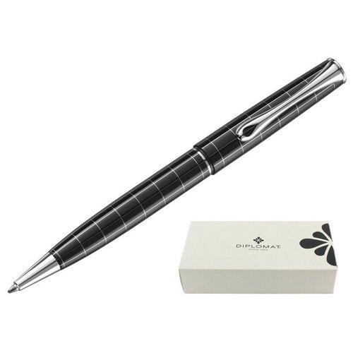Ручка шариковая DIPLOMAT Optimist rhomb синий D20000209