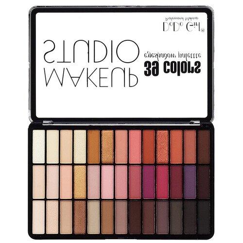 DoDo Girl Палетка теней Make Up Studio 39 colors B