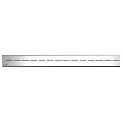 Решетка для лотков AlcaPlast ROUTE-750M нержавеющая сталь-мат