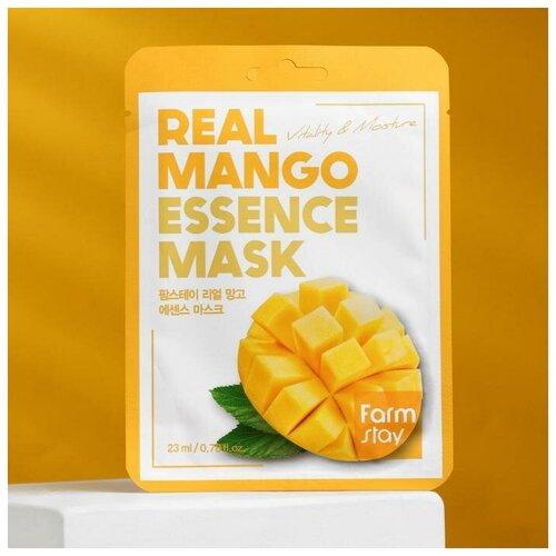 Купить Тканевая маска для лица FarmStay, с экстрактом манго, 23 мл