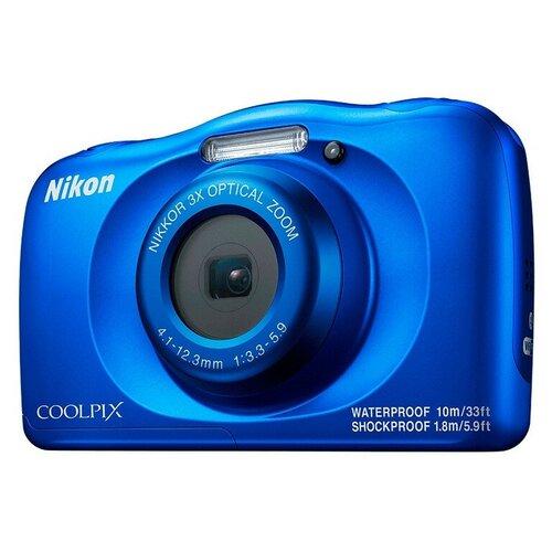 Фото - Фотоаппарат Nikon Coolpix W150 BLUE BACKPACK KIT + рюкзак в подарок printio рюкзак 3d русалка в аквариуме