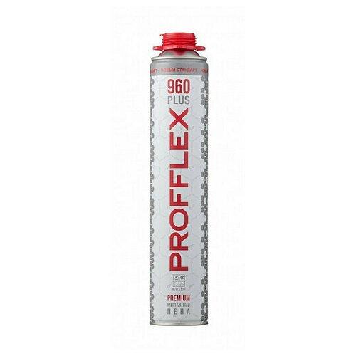 Пена монтажная проф. PROFFLEX PREMIUM PRO 960 plus, 850 мл. всесезонная (-16°С)