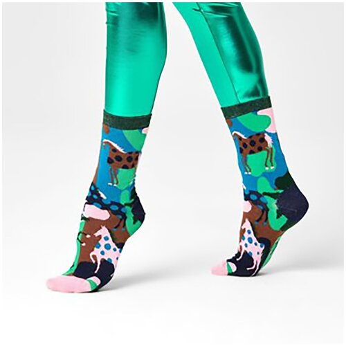 Женские носки Hysteria Jasmine Ankle Sock - Green/Pink 39-41