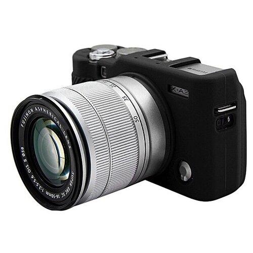 Фото - Защитный силиконовый чехол MyPads для фотоаппарата Fujifilm XA3/ XA5/ XA10/ XA20/ X-A3/ X-A5/ X-A10/ X-A20 ультра-тонкая полимерная из мягкого качественного силикона черный аккумулятор digicare plf npw126 np w126 для fujifilm x t1 x pro1 x e2 x e1 x m1 x a1