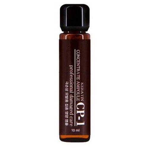 CP-1 / Кератиновая эссенция для волос 10 мл / Esthetic House CP-1 Keratin Concentrate Ampoule  - Купить