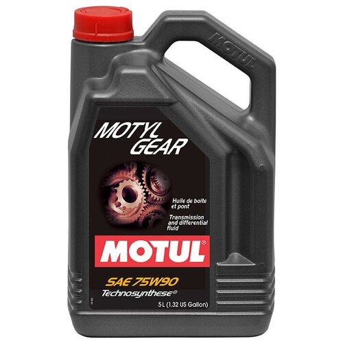 Масло трансмиссионное Motul MotylGear 75W-90, 75W-90, 5 л масло трансмиссионное motul motylgear 75w 90 75w 90 20 л