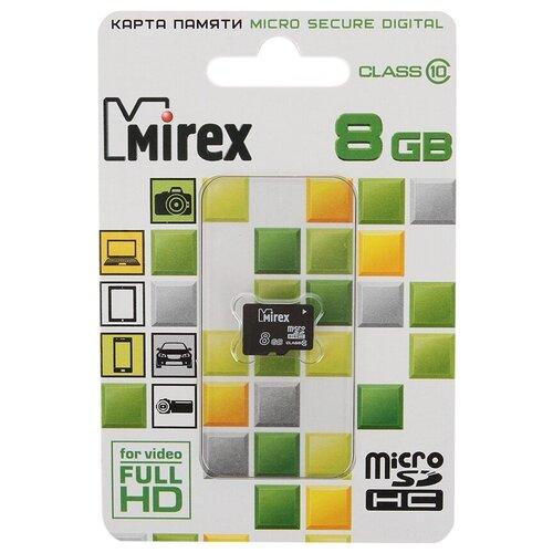 Фото - Карта памяти 8Gb - Mirex - Micro Secure Digital HC Class 10 13612-MC10SD08 (Оригинальная!) карта памяти 8gb mirex micro secure digital hc class 10