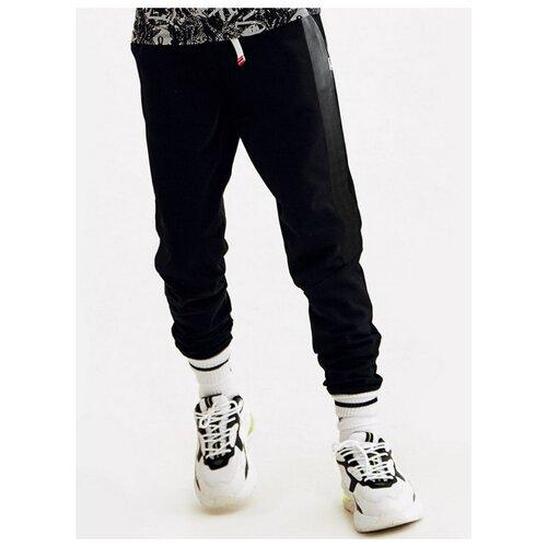 Фото - Спортивные брюки Nota Bene размер 116, черный брюки nota bene размер 134 черный