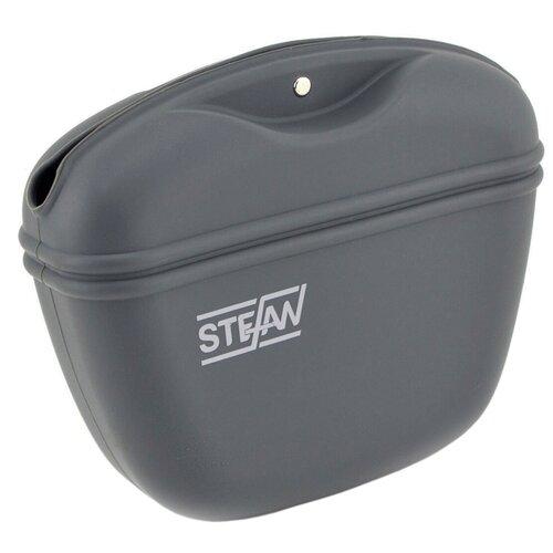 Сумочка для лакомств силиконовая STEFAN, серый, WF37701 недорого