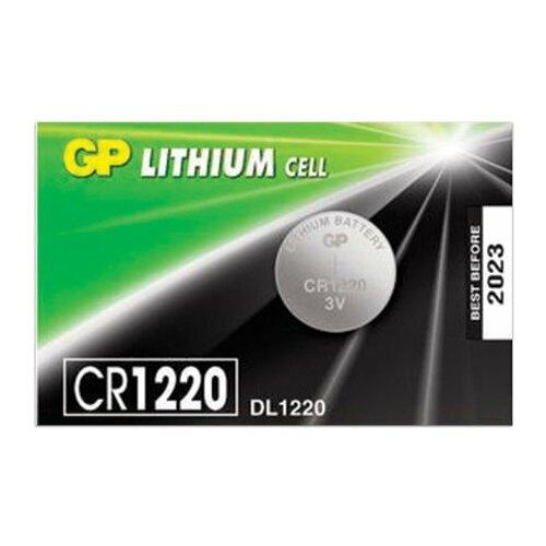Фото - Батарейка GP Lithium, CR1220, литиевая, 1 шт., в блистере (отрывной блок), CR1220RA-7C5 батарейка gp alkaline 192 g3 lr41 алкалиновая 1 шт в блистере отрывной блок 192 2cy 4891199015533