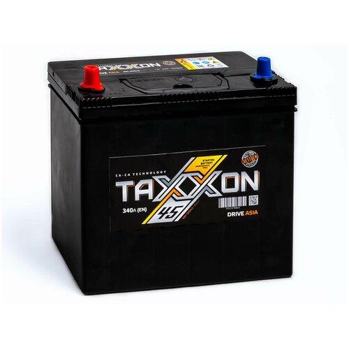 Аккумулятор автомобильный TAXXON DRIVE ASIA 45L 340 А прям. пол. 45Ач тонкие клеммы (701145)
