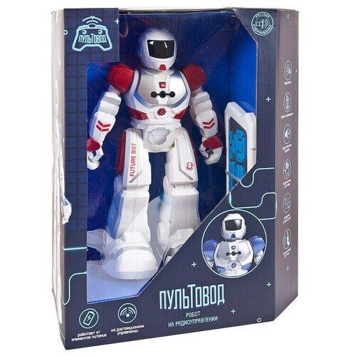 Купить Робот на радиоуправлении JUNFA Пультовод свет, звук, движение, с русским озвучанием, в коробке, 26х13, 5х32 см, ZY818334, Junfa toys, Развивающие игрушки