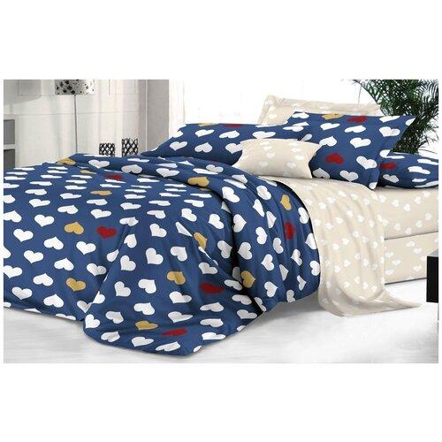 Комплект постельного белья 2 спальный макси сатин лав стори эльф