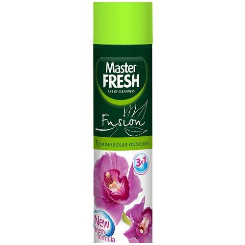 Освежитель воздуха тропическая орхидея 300 МЛ (1/24) MASTER FRESH порошок master fresh 7в1 1 кг с0006095