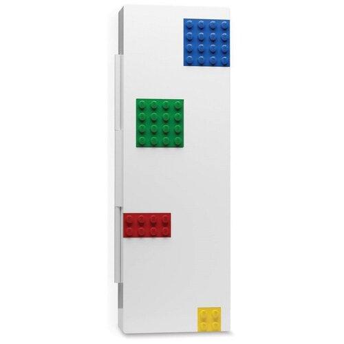 Пенал LEGO (цветные кубики) + минифигурка LEGO: Classic