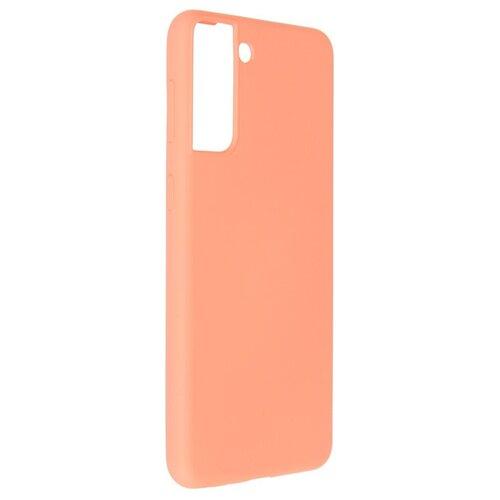 Фото - Чехол Pero для Samsung Galaxy S21 Plus Liquid Silicone Coral PCLS-0039-OR чехол pero для samsung s21 plus liquid silicone yellow pcls 0039 yw