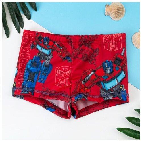 Купить Плавки Kaftan размер 98-104, красный, Белье и пляжная мода