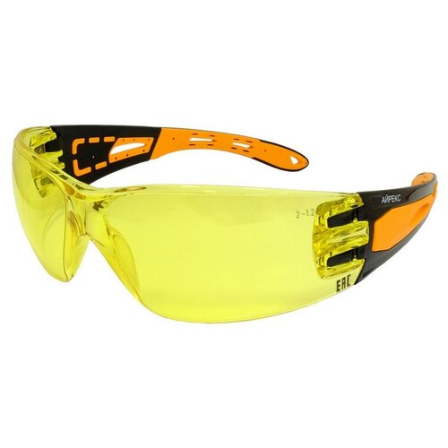 Очки защитные открытые РОСОМЗ O16 айрекс NordGlass желтые (арт произ 11657)