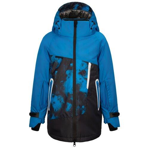 Купить Куртка Oldos Ирвин размер 122, синий, Куртки и пуховики