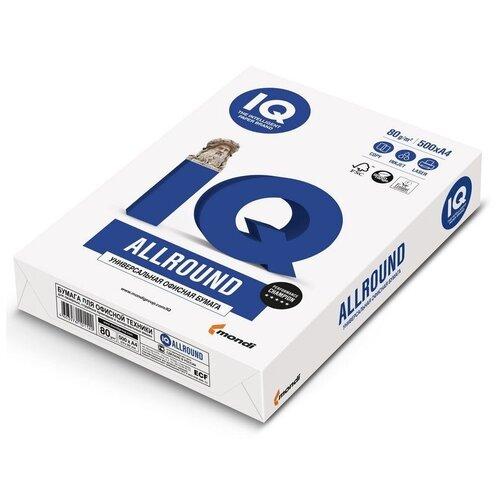 Фото - Бумага IQ Allround, А4, марка В, 80 г/м2, 500 листов бумага iq allround а4 марка в 80 г м2 500 листов