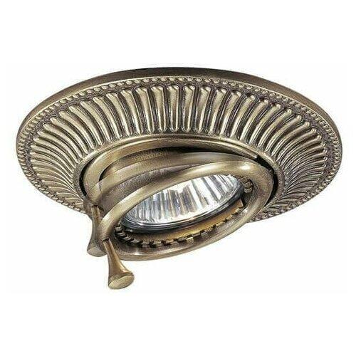 Встраиваемый светильник Reccagni Angelo SPOT 1082 bronzo светильник reccagni angelo spot 1082 bronzo rosa spot