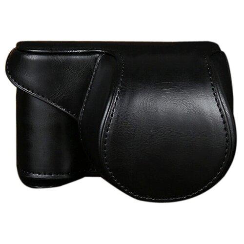 Фото - Защитный чехол-футляр MyPads TC-1720 для фотоаппарата Nikon D3300/ D3200/ D5200/ D5300 противоударный усиленный легкий из качественной кожи черная сумка nikon crumpler slr для d3200 d3300 d3400 d5100 d5200 d5300 d5500 d5600