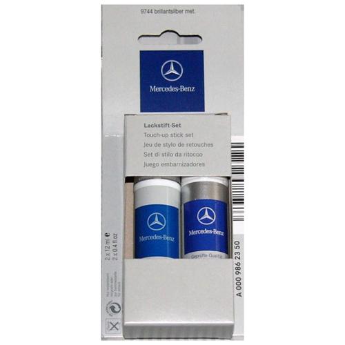 Mercedes-Benz Краска-карандаш для подкраски 2 шт. Selenite Gray Metallic 12 мл