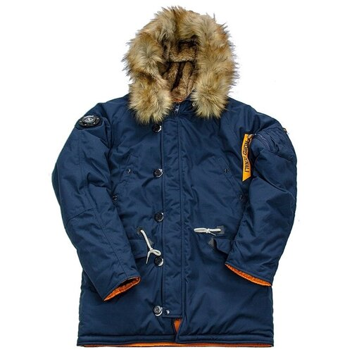 Куртка аляска Denali Oxford 2.0 Compass (цвет replica blue/orange), XS (РОС 44)