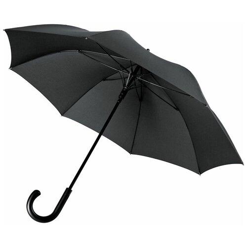 Зонт-трость Alessio, черный полусапоги alessio nesca alessio nesca mp002xw19d0u