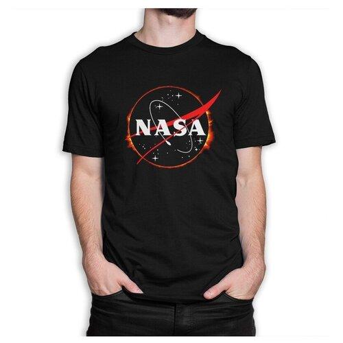 Футболка DREAM SHIRTS NASA размер XL, черный