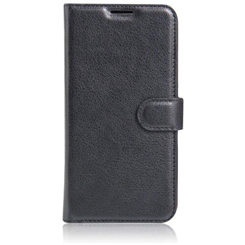 Фото - Чехол MyPads для LG G4 с мульти-подставкой застжкой и визитницей черный чехол книжка lg quick circle для lg g4 оригинальный аксессуар white