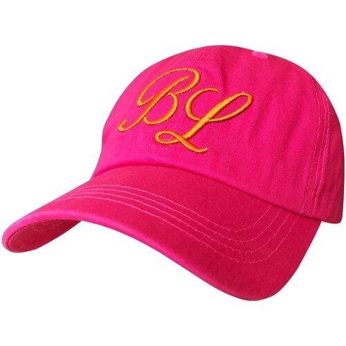 Фото - Бейсболка подростковая Be Snazzy CZD-0099 с вышивкой BL. Цвет темно-розовый. Размер 54-56 бейсболка be snazzy m 1 czd 0046 размер 56 60 темно синий