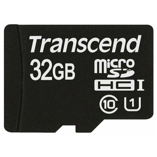 Фото - Карта памяти 32Gb - Transcend Ultimate - Micro Secure Digital HC UHS-I Class 10 TS32GUSDHC10U1 (Оригинальная!) карта памяти 512gb transcend 300s secure digital xc class