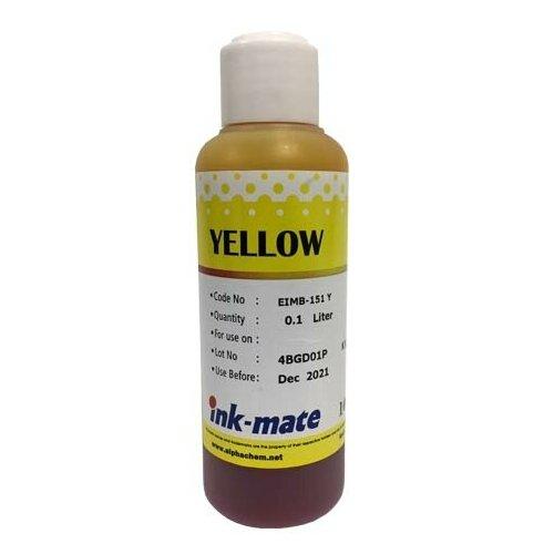 Чернила светостойкие для EPSON (T0824/T0814/T0804) St Photo R270/390/RX590/T50/P50 (100мл, yellow) EIM-151Y Ink-Mate