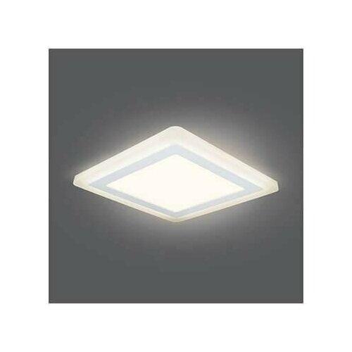 Фото - Встраиваемый светодиодный светильник Gauss Backlight BL124 светильник gauss встраиваемый светодиодный backlight bl114