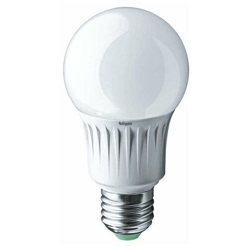 Лампа светодиодная 71 297 NLL-A60-12-230-4K-E27 (Standard) 12Вт грушевидная 4000К бел. E27 1000лм 176-264В Navigator 71297 (упаковка 10 шт)