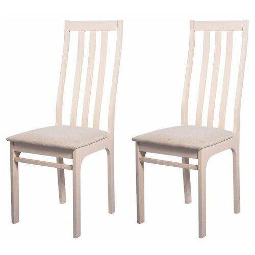 Комплект стульев ЧМФ С36 Слоновая кость - Брикс ивори 2 шт