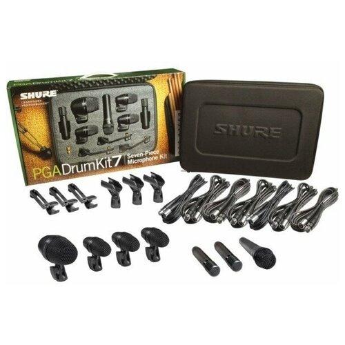 SHURE PGADRUMKIT6 Комплект из 6 микрофонов для ударных 1 х PGA52