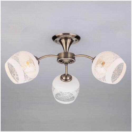 Потолочный светильник Eurosvet 30118/3 античная бронза