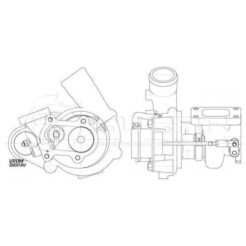 LUZAR LAT1658 Турбокомпрессор
